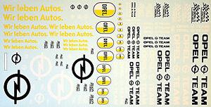 Opel-3-Sponsor-Nous-Leben-Vie-Voitures-Equipe-1-43-Autocollant-Decalcomanie