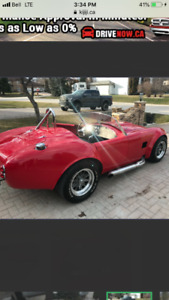 1965 Shelby cobra convertible AUTO Factory 5 no gst