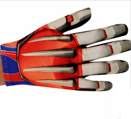 Transformers 4 Optimus Prime Costume Movie Gloves Age of Extinction Boys Child