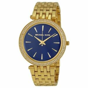 Michael-Kors-MK3406-Darci-Gold-Blue-Dial-Glitz-Womens-Watch
