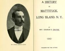 1906 MATTITUCK, LONG ISLAND New York NY, History & Genealogy Ancestry DVD CD B25