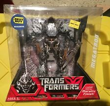 TRANSFORMERS DECEPTICON MEGATRON BEST BUY METALLIC EXCLUSIVE MOVIE NEW SEALED