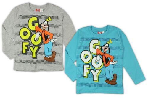Goofy Shirt langarm 92 98 104 110 116 122 Junge Langarmshirt Disney Mickey Mouse