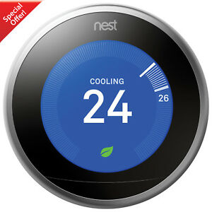 Nest Wi-Fi Smart Learning Thermostat