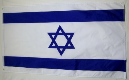 Israel Country Flag 3/' X 5/' International Banner