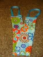 Lotion Applicator Sun Tan Floral Turquoise/ Personal Non-absorbent Back Buddy