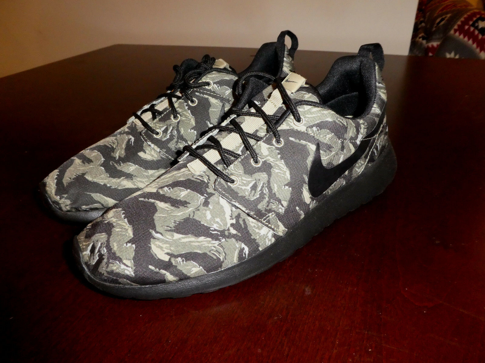 Nike Roshe Run Rosherun Print shoes mens new 655206 022 sneakers tiger