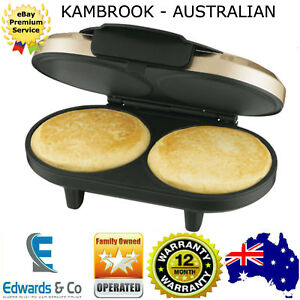 Image Is Loading Kambrook Pancake Maker Hot Cakes Machine Electric Breakfast