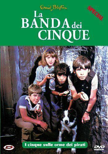 La Banda Dei Cinque Special 2 - I Cinque Sulle Orme Dei Pirati DVD DYNIT
