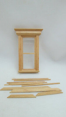 Yorktown 1:24 Dollhouse wooden H5041 Houseworks G Scale Half Scale Window