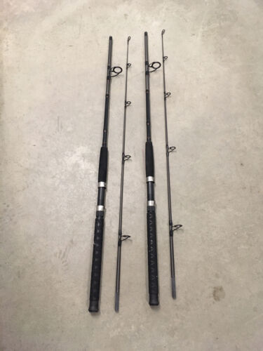 2 Berkley Fusion 7/' Spinning Rods MH Action Saltwater Catfish 10-25lb Big Game