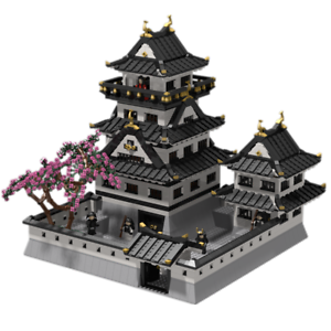 Details about Lego Custom Instruction Japanese castle ( instruction only)