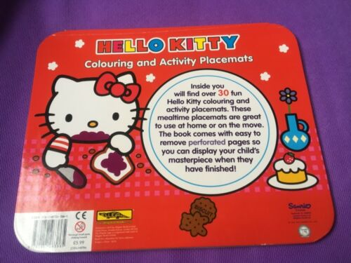 Hello Kitty 12 Fridge Activity Magnets Slim Press Out Sheet