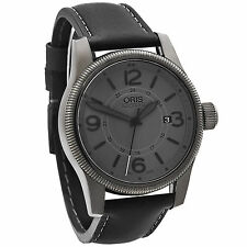 Oris Big Crown Date Stealth Grey Automatic Men's Watch 733-7629-4263LS