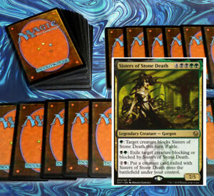 mtg-GREEN-BLACK-GOLGARI-COMMANDER-EDH-DECK-Magic-the-Gathering-rare-cards
