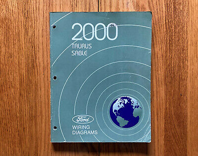 Original 2000 Ford Taurus Sable Wiring Diagrams Shop ...