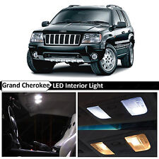 18x White Interior LED Lights Package for 1999-2004 Jeep Grand Cherokee + TOOL