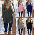 Fashion lady Loose T shirt Blouse Casual Long Sleeve Tops Women Shirt plus size