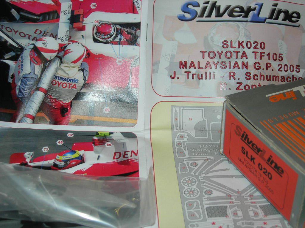 ofreciendo 100% plataLine Tameo Tameo Tameo 1 43 KIT SLK 020 Jugueteota TF105 Malasia GP 2005 NEW  gran venta