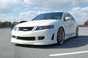 HONDA ACCORD ACURA TSX MUGEN LOOK BODY KIT FBRLSS NEW EBay - Acura tsx body kit