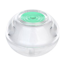 USB LED Night Light Crystal Ultrasonic Air Humidifier Aroma Hayfever Diffuser UK