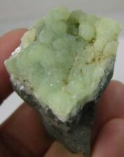 37mm New Jersey USA 100% Natural Raw Prehnite Crystal Matrix Specimen 1 7/16 in