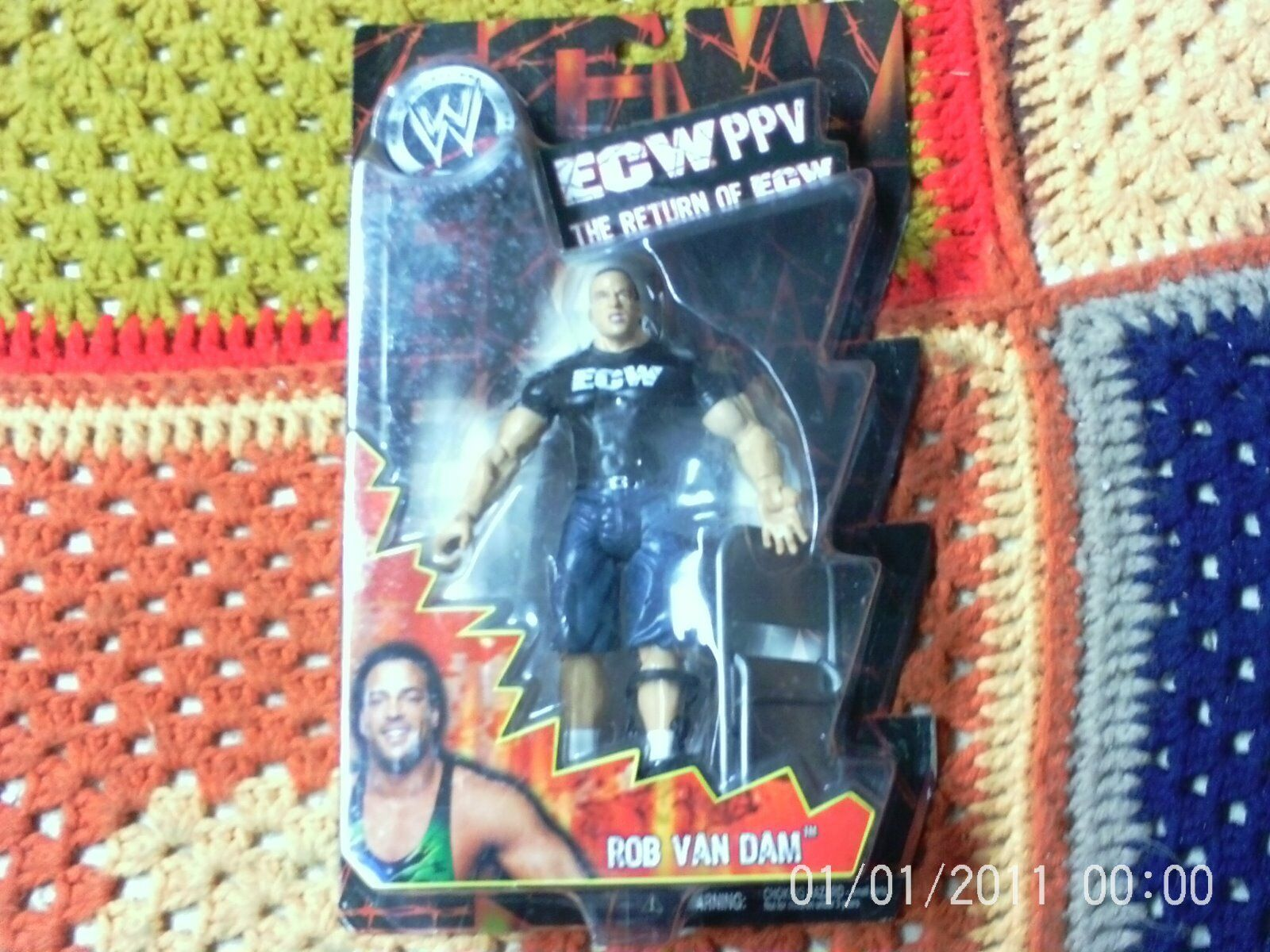 THE RETURN OF ECW ASSORTMENT 4 FIGURES