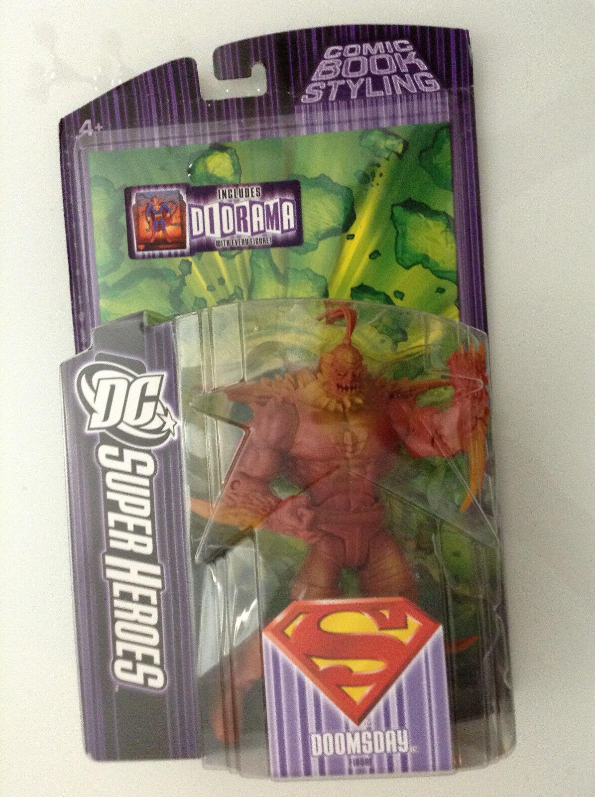 DC SUPER HEROES DOOMSDAY FIGURE S3 SELECT SCULPT(UNIVERSE CLASSIC SUPERMAN NEW52