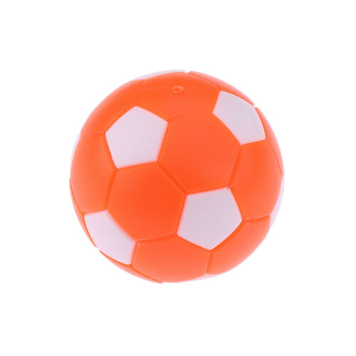 6pcs 36mm Orange Table Soccer Foosballs Replacement Mini Soccer Balls