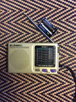 Bell & Howell Shortwave Radio FM MW SW 9 Band World Receiver MW.SW1-7 New Batter