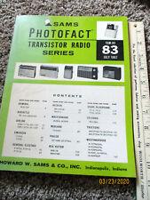 MOTOROLA AX4B,AX4G,AX4N,AX5P TRANSISTOR RADIO PHOTOFACT