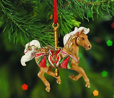 Breyer Winter Winds Carousel Ornament
