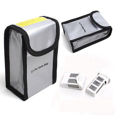Lipo Battery Protective Safe Fireproof Fiber Pouch Bag Case For DJI Phantom 3/4