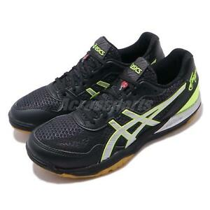 Asics-Rote-Japon-Lyte-FF-BLACK-GUM-MEN-Volleyball-Badminton-Shoes-1053A002-016
