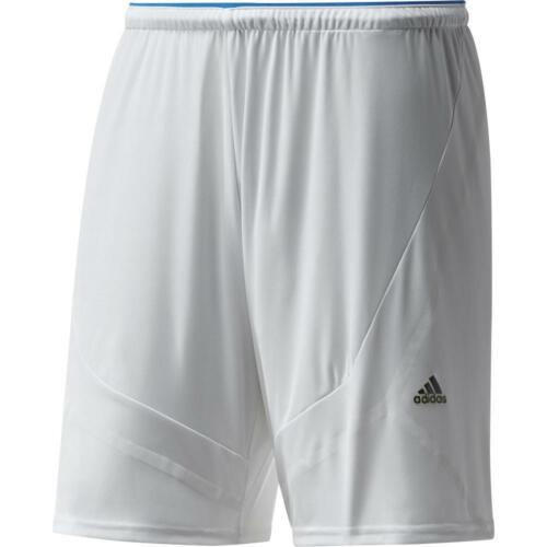 adidas Mens Football Training Shorts White lightweight Climacool F50 Messi