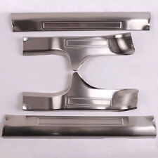 Steel Door Entry Sill Guard Plate Protector Panel Scuff Plate For X-Trail 14-16