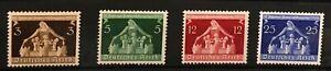 GERMANY 3rd.REICH 1936. Mi.# 617/620 Municipalities Congress SC 473-476 M/NH