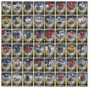 2018-19-NHL-SKATE-GOLD-BASE-CARDS-RANDOM-LOT-OF-50-CARDS-Topps-NHL-Skate-Digital
