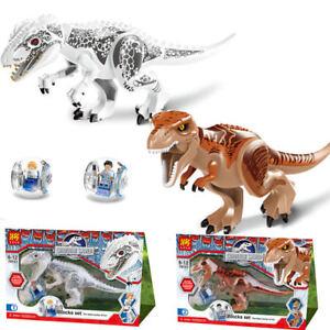 Jurassic-World-Park-Dinosaurier-Urzeittiere-Kinder-Spielzeug-T-Rex-Tyrannosaurus