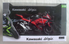 "KAWASAKI NINJA 250 ORANGE SE Red 1/12 Aoshima 6"" scale motorcycle US SELLER NEW"