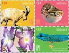 United Nations (VIENNA) - 2017 Endangered Species - Block of 4 (MNH)