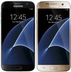 Samsung-Galaxy-S7-SM-G930V-32GB-Black-GOLD-GSM-UNLOCKED-Verizon-Smartphone-B