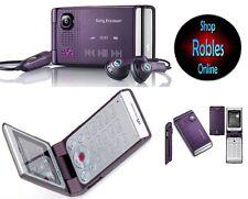 Sony ERICSSON w380i ELECTRIC PURPLE (Senza SIM-lock) 3 nastro Walkman RADIO Top Ovp