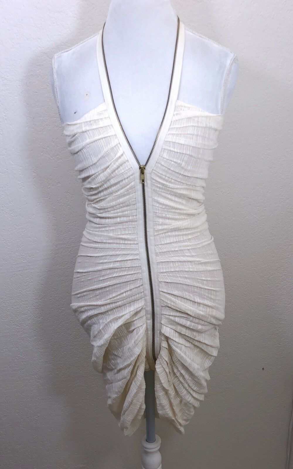Womens ALEXIS Halter Ruched Dress Size 0