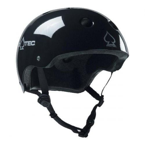 Size M,White Glossy 187 Killer Pads Pro Skate Helmet w//Sweatsaver Liner