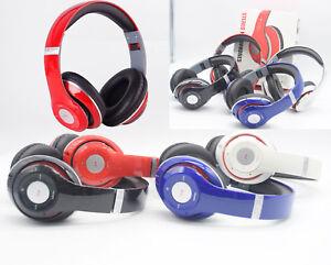 Foldable-Wireless-Stereo-Bluetooth-Headphone-Headset-Earphone-MP3-FM-TF-w-Mic