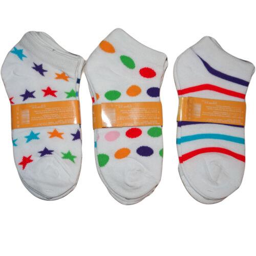 12 Paar Kinder Socken Paket Söckchen Füßlinge Sport Sneaker Mädchen kurz 27-38