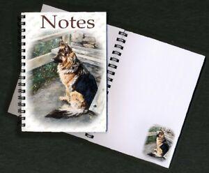German Shepherd Dog Notebook/Notep<wbr/>ad No6SH By Starprint