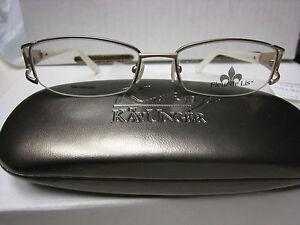 FLEUR-DE-LIS-Eyeglass-Frames-BOUQUET-in-GOLD-51-17-135
