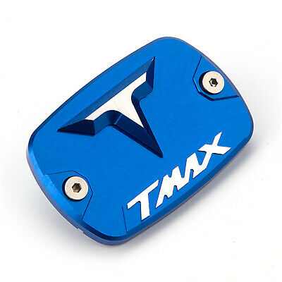 Aluminum Brake Fluid Fuel Reservoir Tank Cap Cover For YAMAHA TMAX 500 530 SX